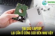 Tại sao laptop lại cần SSD đến như vậy?