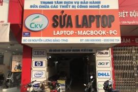 Quy trình sửa chữa khắc phục sự cố laptop