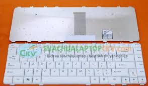 Bàn phím lenovo Y450 trắng